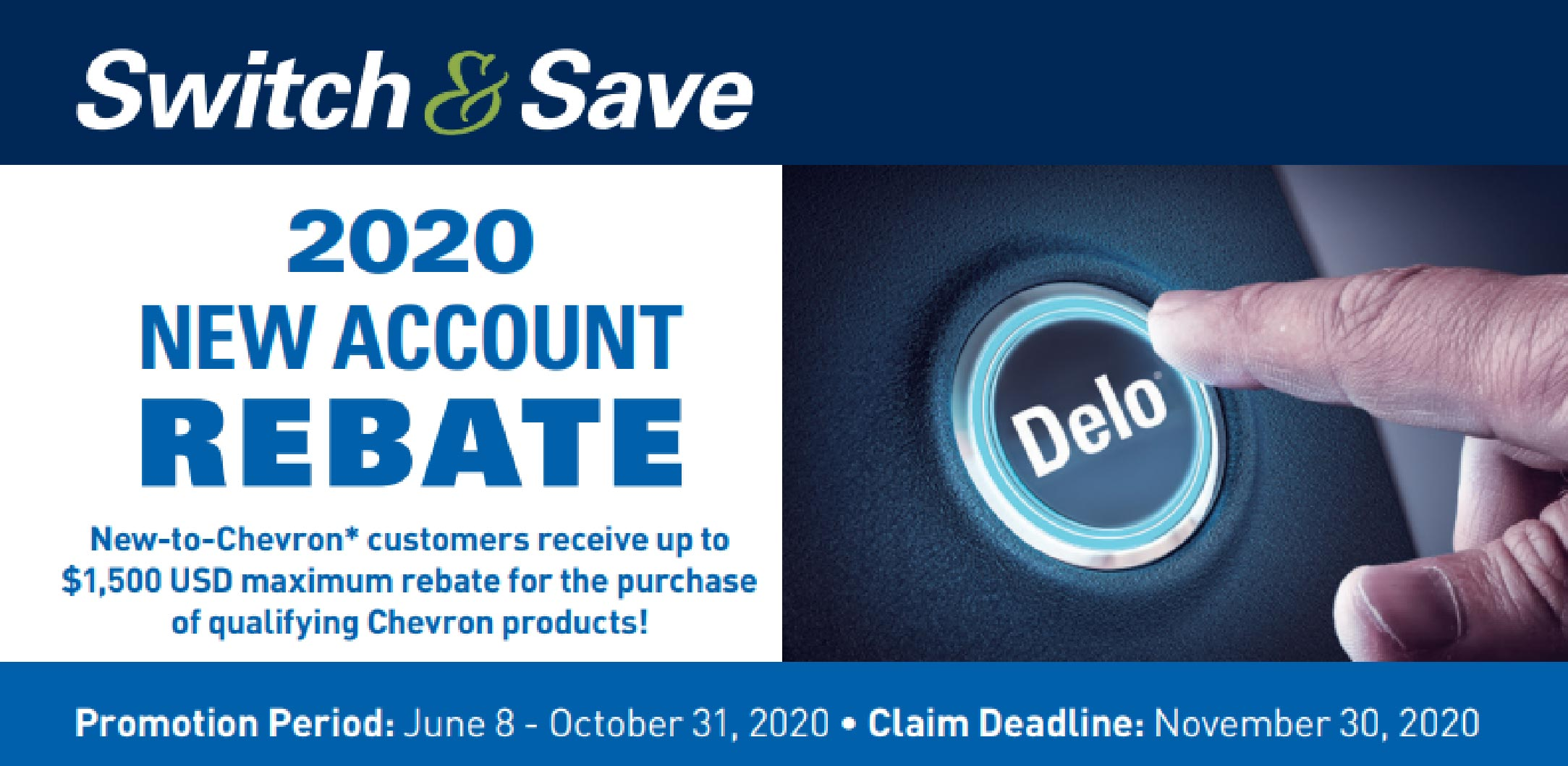2020 Switch & Save Promotion