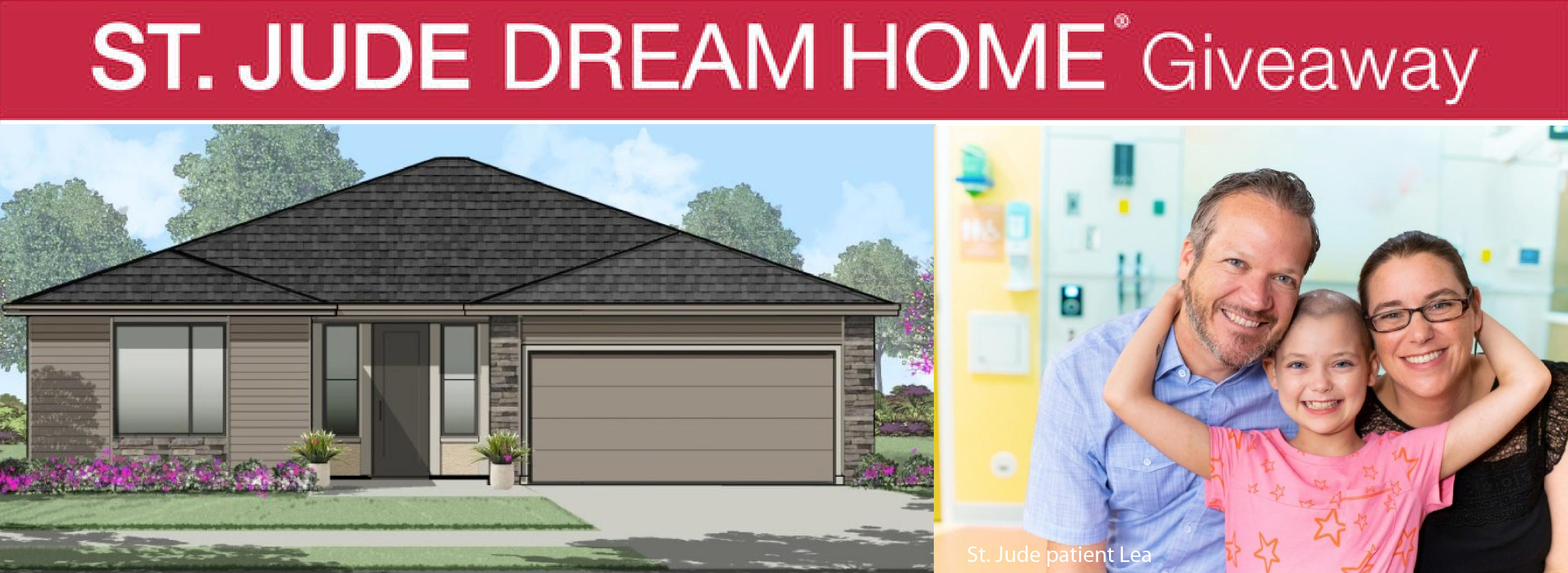 St Jude Dream Home Giveaway